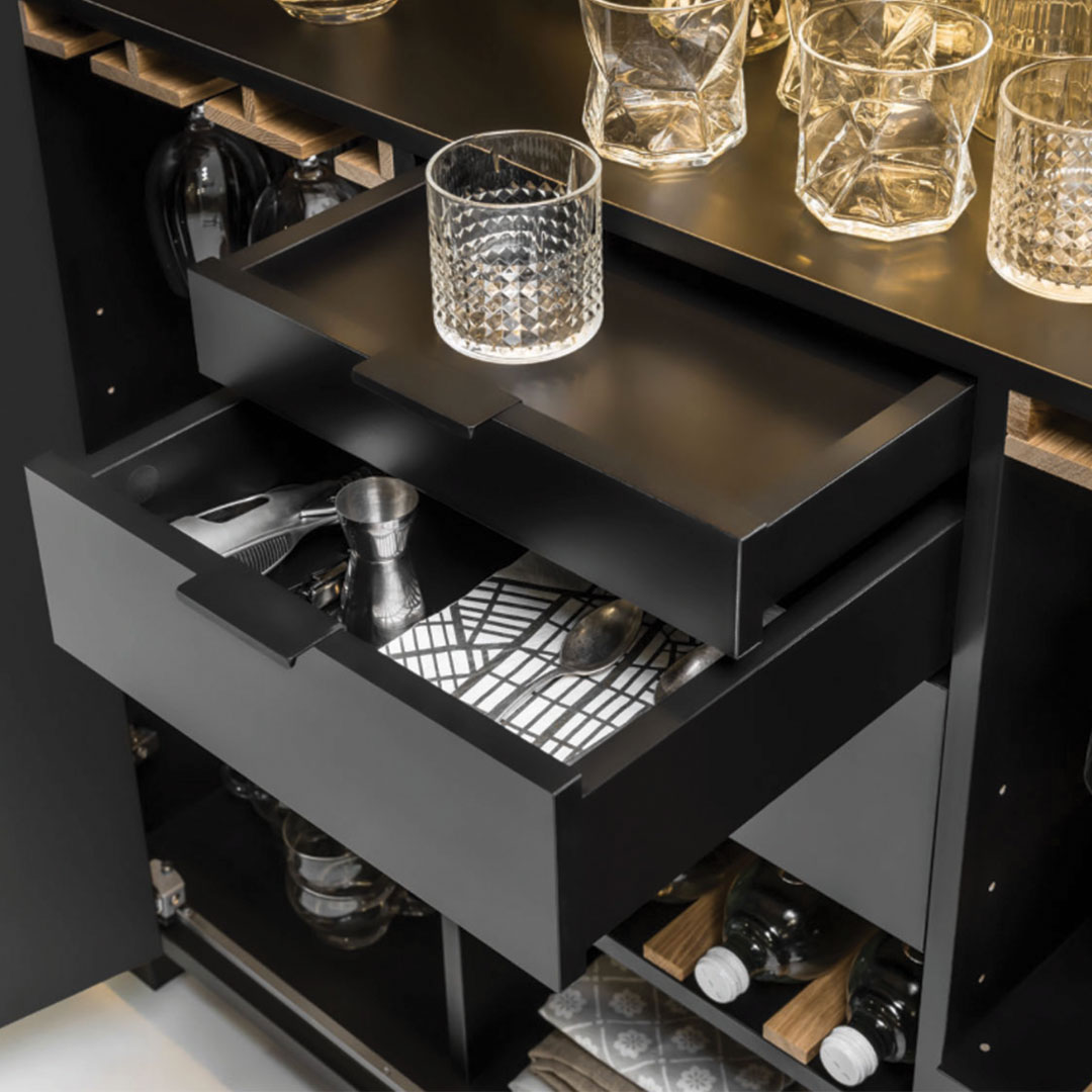 Simple Drinks Cabinet 2