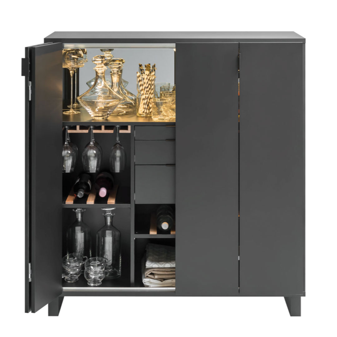 Simple Drinks Cabinet 3