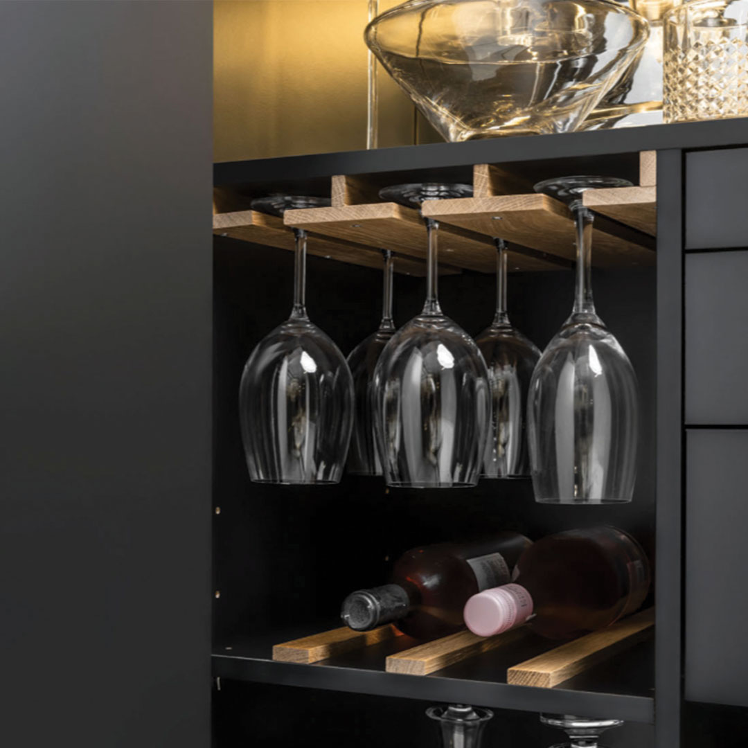 Simple Drinks Cabinet 4