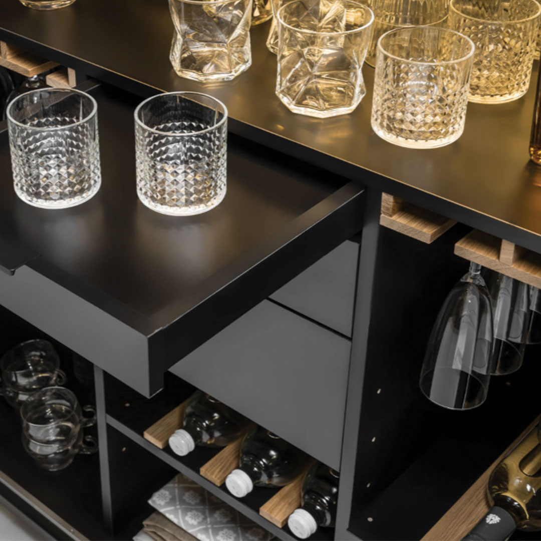 Simple Drinks Cabinet 1