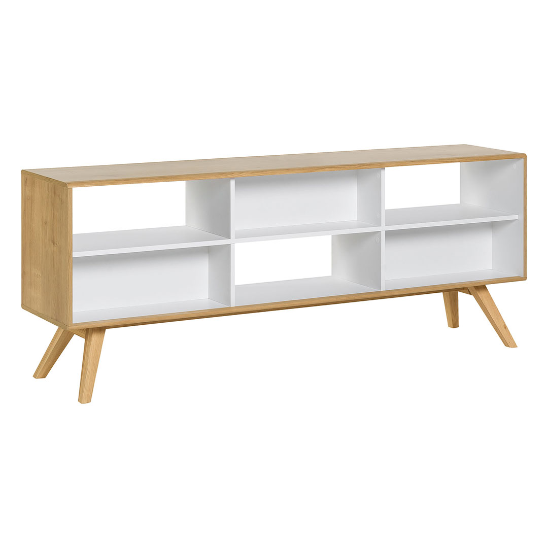 Nature Two-Sided Low Bookcase