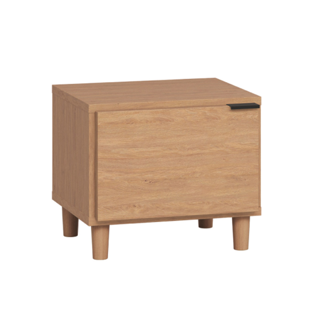 Simple Nightstand - Oak