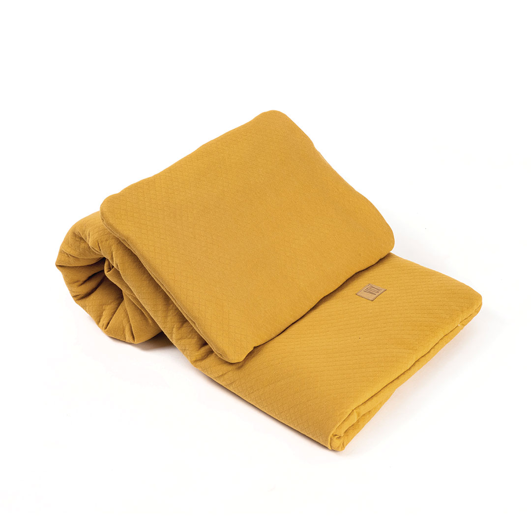 Baby Bedding Set 100x80 - Mustard