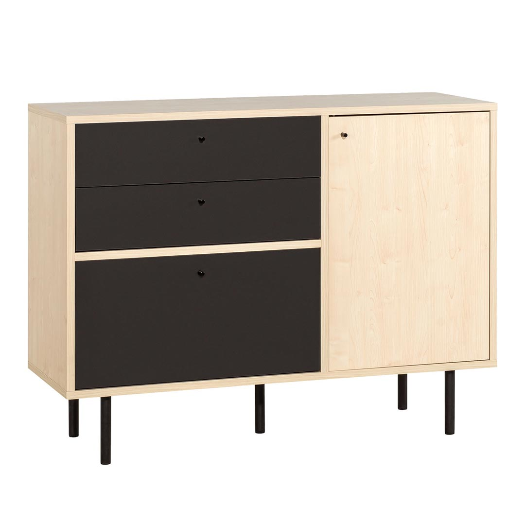 Frame Narrow Chest of Drawers