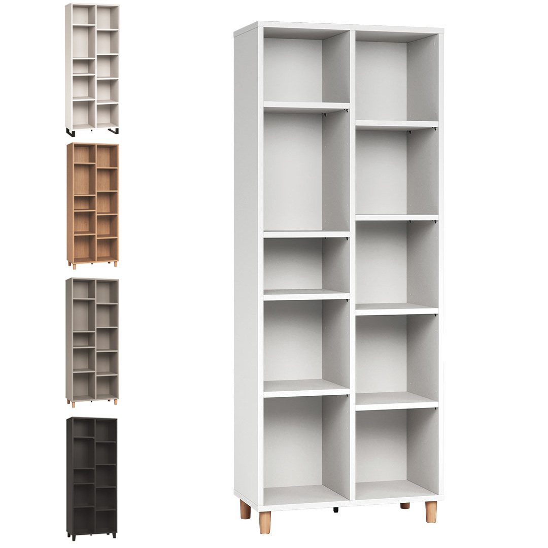 Simple Double Bookcase