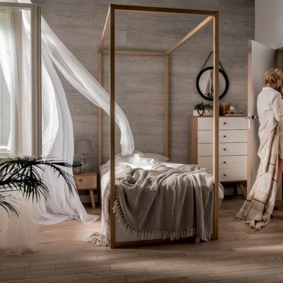 4You Single Canopy Bed