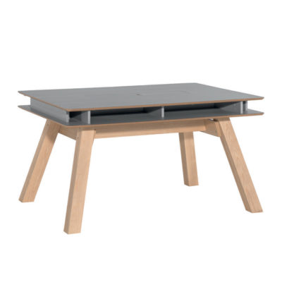 Vox 4You Extendable Dining Table - Grey excl Drawers