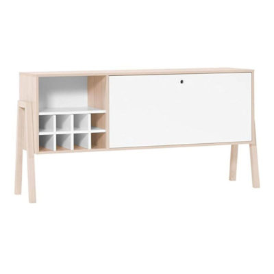 Spot Sideboard with Wine Rack
