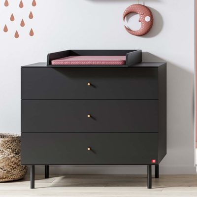 Cute Compactum with Changer – Black.