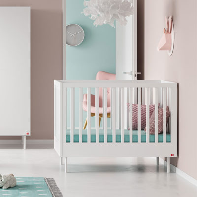 Cute Cot Bed - White