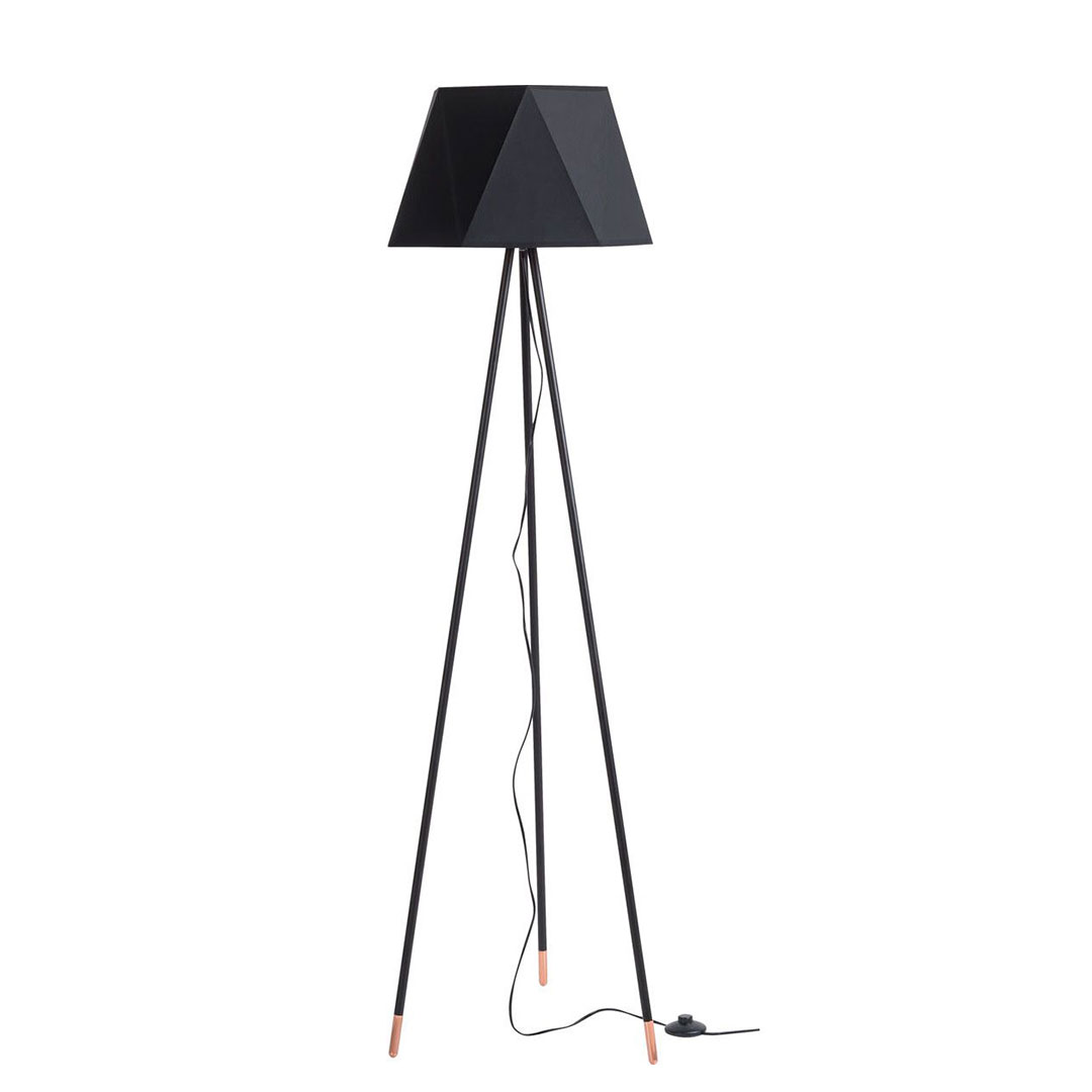Este Floor Lamp Black Vox Furniture South Africa