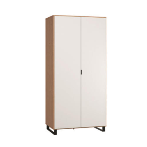simple-2-door-wardrobe-oak-white-black-blackskid
