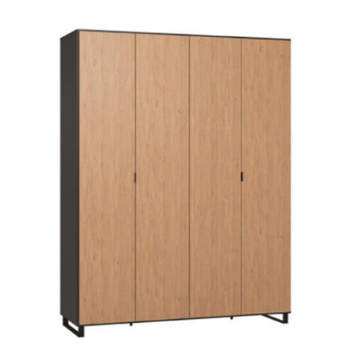 Simple Four-Door Wardrobe