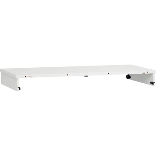 Simple Round Table Extension Panel - White