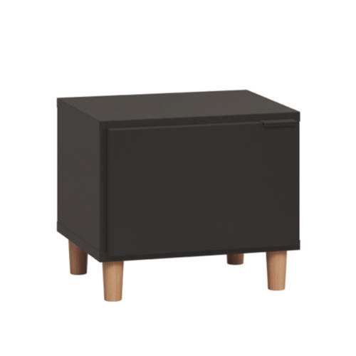 Simple Nightstand - Black