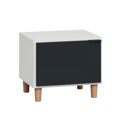 Simple Nightstand - Black & White