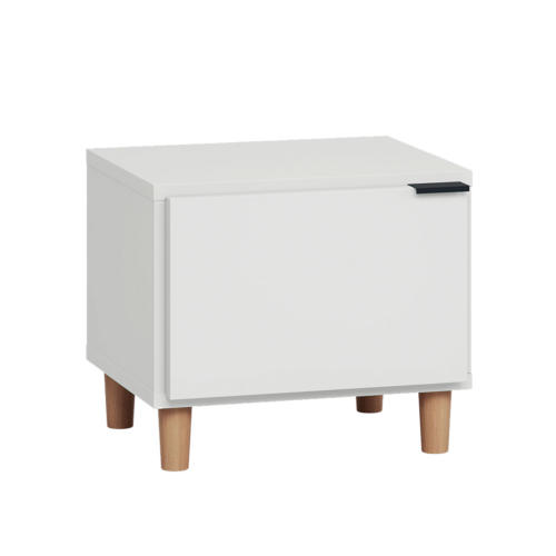 Simple Nightstand - White