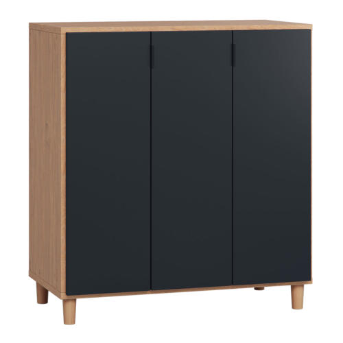 Vox Simple Cupboard - Oak & Black
